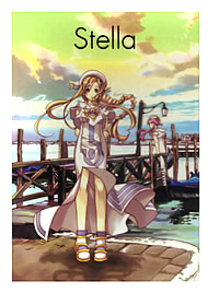 "天野こずえ Illustration Works ""Stella"""